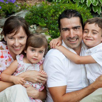 Mélanie Bédard et ma famille